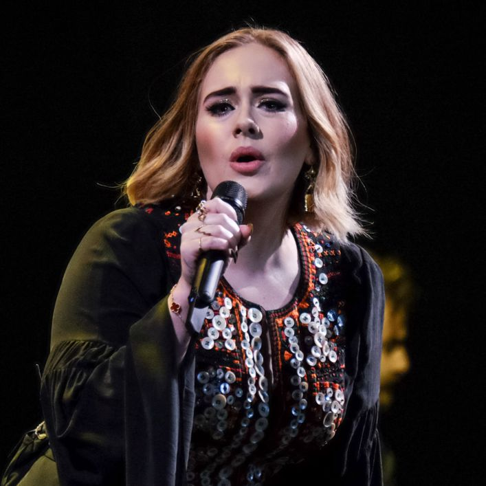 This is adele new looks